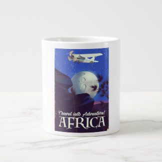 Reisen Sie in Abenteuer! Afrika Jumbo-Tasse