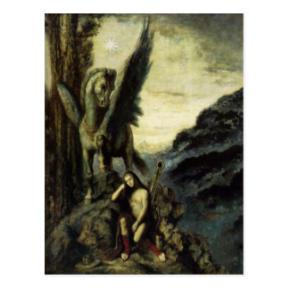 Reisend-Dichter durch Gustave Moreau Postkarte