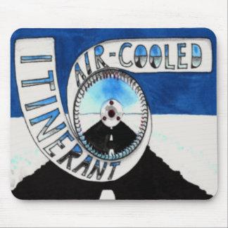 Reisendes luftgekühltes Logo mousepad