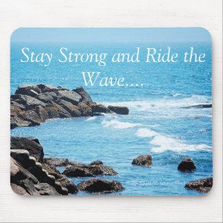 Reiten Sie die WellenMausunterlage Mauspad