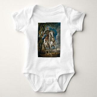 Reiterporträt des Herzogs von Lerma - des Rubens Baby Strampler
