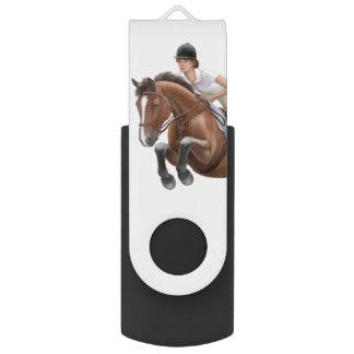 Reitershow-Pullover-Pferd-USB-Blitz-Antrieb USB Stick