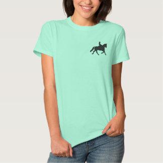 ReiterSilhouette Besticktes T-Shirt