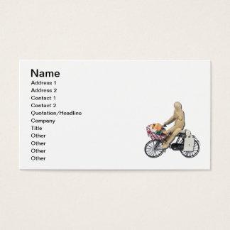 Reitfahrrad-Korb-Nahrung Visitenkarte
