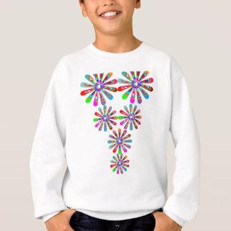 Reizend BABY Girly festliche Drucke Sweatshirt