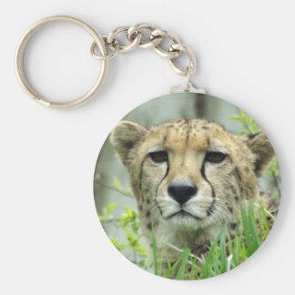 Reizend Gepard-Schlüsselring Standard Runder Schlüsselanhänger