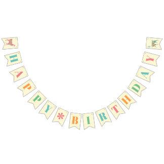 Reizende Lama-alles- Gute zum Geburtstagfahne Wimpelketten