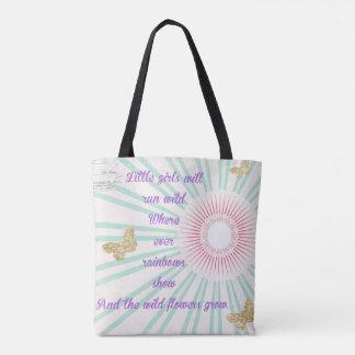 Reizende Lavendel-Tasche Tasche