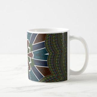 Reizende Tasse Verpackung-Bild Schablone
