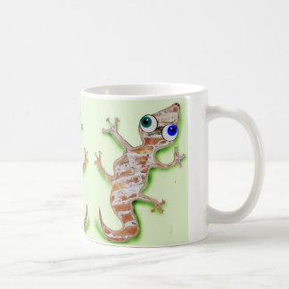 Reizender Gecko Kaffeetasse
