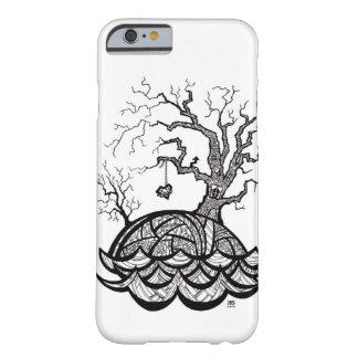 Reizender Hügel-verwickelte Herz-Baumillustration Barely There iPhone 6 Hülle