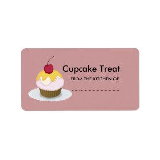Reizender Lil Leckerei-Bonbon-kleiner Kuchen Adressaufkleber