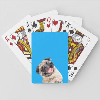 Reizender Mopphund Pokerdeck