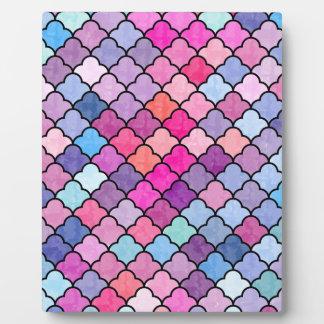 Reizendes Muster XI Fotoplatte