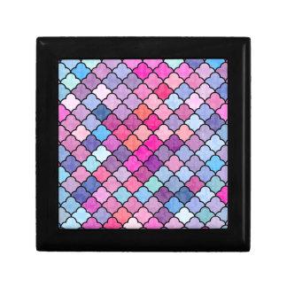 Reizendes Muster XI Kleine Quadratische Schatulle