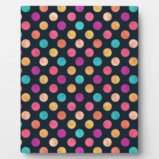 Reizendes Punkt-Muster II Fotoplatte