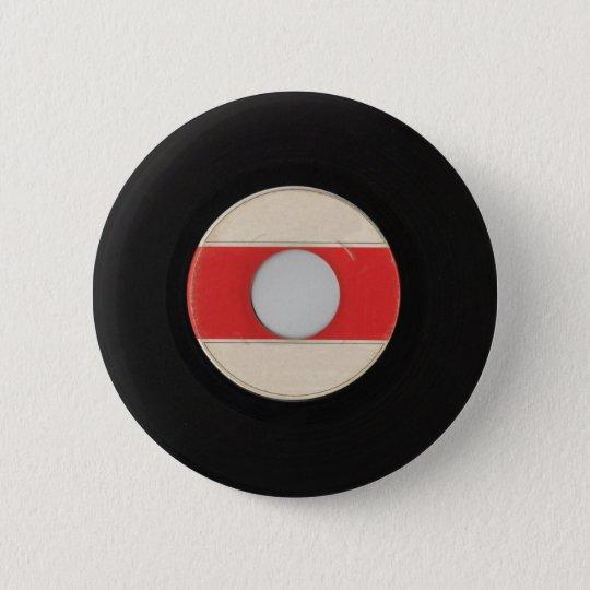 Rekordknopf 45 runder button 5,7 cm