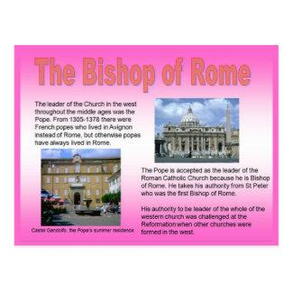 Religion, römisch-katholisch, Bischof von Rom Postkarte