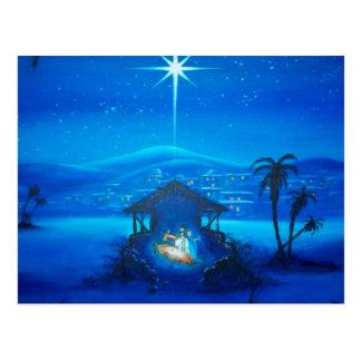 Religiöse Geburt Christis-Weihnachtspostkarte Postkarte