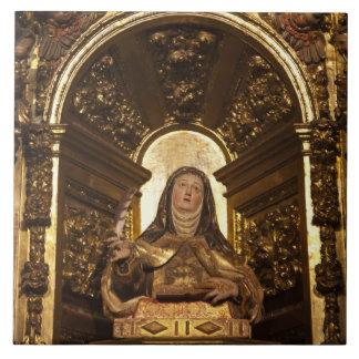 Religiöse Kunst, die Sankt Teresa 2 darstellt Keramikfliese