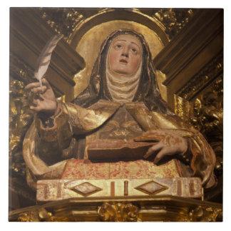 Religiöse Kunst, die Sankt Teresa darstellt Keramikfliese