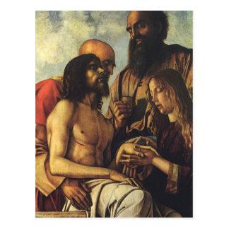 Religiöse Renaissance, Pieta durch Giovanni Postkarte