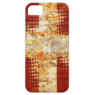Religiöses Halbtonkreuz iPhone 5 Case