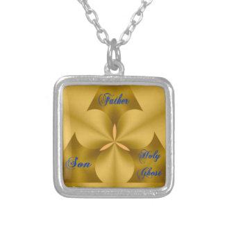 Religiöses Halskettengeschenk, das Heilige Halskette Mit Quadratischem Anhänger