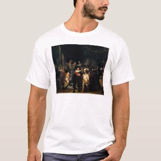 Rembrandt der Nachtuhr-T - Shirt