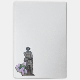 Rembrandt-Post-Itanmerkungen Post-it Klebezettel
