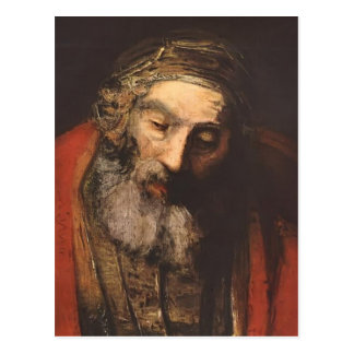 Rembrandt-Rückkehr des verschwenderischen Sohns Postkarte
