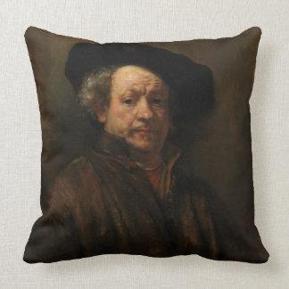 Rembrandt Van Rijn Selbstporträt-schöne Kunst Kissen