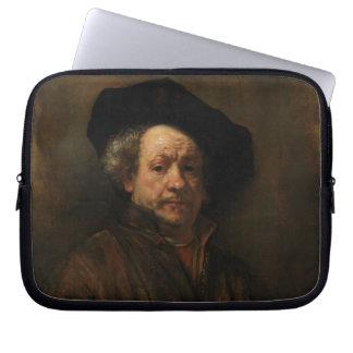 Rembrandt Van Rijn Selbstporträt-schöne Kunst Laptopschutzhülle