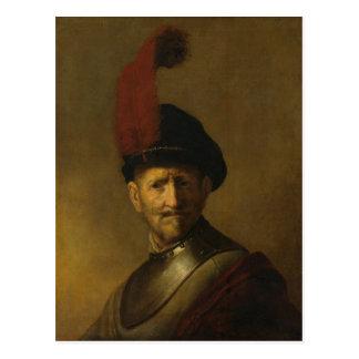 Rembrandts Vater, Gerrit Rembrandt, 1634 Postkarte