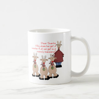 Ren-liebes Sankt-Shirt Kaffeetasse