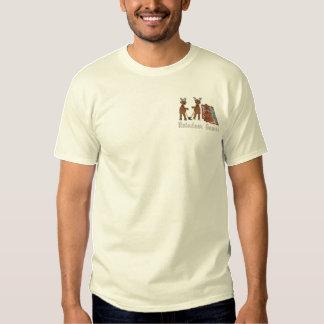 Ren-Spiele Besticktes T-Shirt