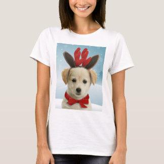 Ren-Welpen-WeihnachtsT - Shirt