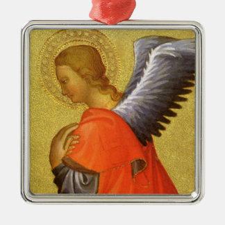 Renaissance-Engel durch Meister des Bambino Vispo Silbernes Ornament