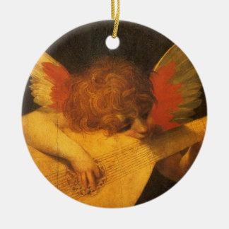 Renaissance-Kunst-Musiker-Engel durch Rosso Keramik Ornament