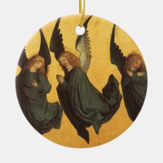 Renaissance-Weihnachtsengel, Meister von Housebook Keramik Ornament