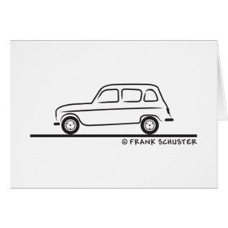 Renault R4 Karte