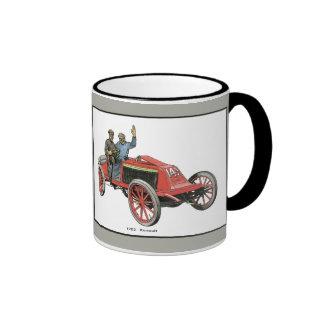 Renault-Rennwagen 1902 Tee Tasse