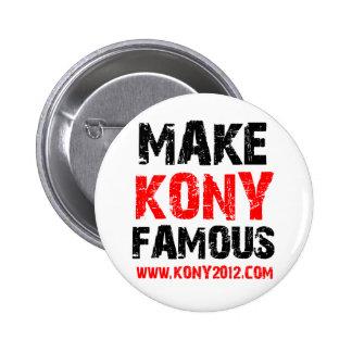 Rendez Kony célèbre - Kony 2012 Badges Avec Agrafe