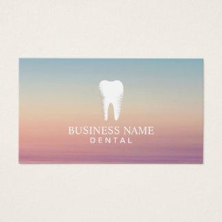Rendez-vous de soins dentaires de dentiste élégant cartes de visite