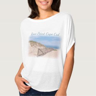 Rennen-Punkt-Strand auf Cape Cod T-Shirt
