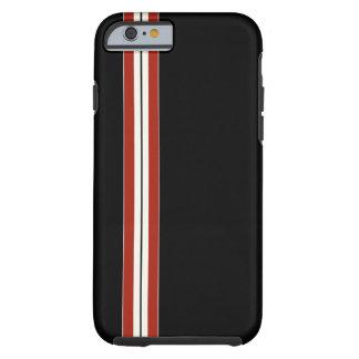 Rennläufer-Schwarzes - Kamerad-Fall Tough iPhone 6 Hülle