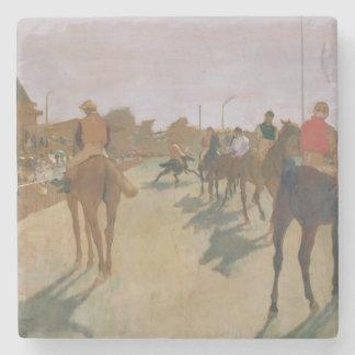Rennpferde Edgar Degass | vor den Ständen Steinuntersetzer