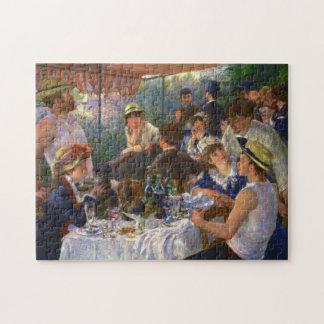 Renoir Mittagessen der Bootfahrt-Party-feinen