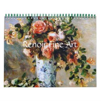 Renoir schöne Kunst Kalender
