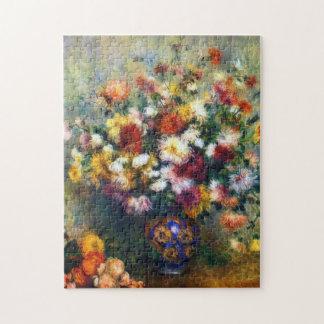 Renoir Vase Chrysantheme-schöne Kunst